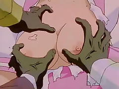 Anime Secretary pleasures Naruto and gets spermshots facial