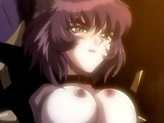 Hentai Mom gets her tits rubbed and takes a creamy cum