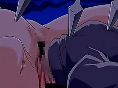Integra Hellsing gets spyed on and spewed with sperm